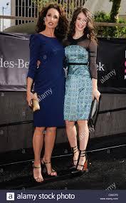 Andie MacDowell Erica Dasher enterMercedes-Benz Fashion Week ...
