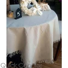 richland ivory tablecloth table