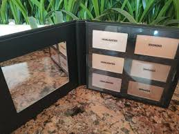 6pc highlight bronzer palette makeup