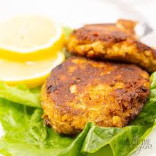 low carb keto salmon patties recipe