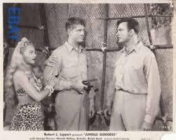 George Reeves holds gun on Ralph Byrd Wanda McKay VINTAGE Photo Jungle  Goddess   eBay
