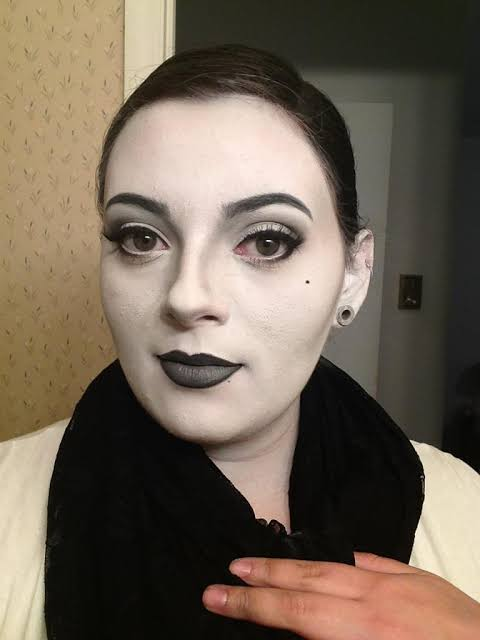 Image result for grayscale makeup ideas