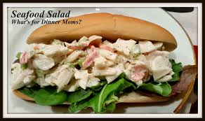 Seafood Salad – What's for Dinner Moms?
