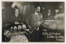 The Coleman Hawkins jazz trio performs in Amsterdam. - Collections Search -  United States Holocaust Memorial Museum