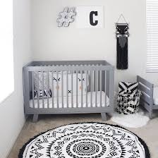 black and white nursery must have