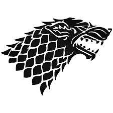 House Stark Wolf Game Of Thrones Vinyl Decal Sticker