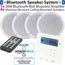 wall mounted micro bluetooth amplifier
