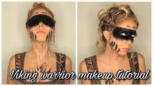 viking warrior makeup tutorial