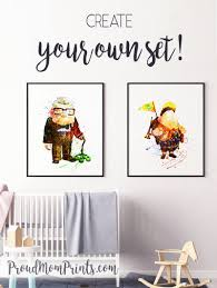 Up Movie Up Theme Party Decor Party Decor Up Theme Russell Wall Art Up Pixar Disney Up House Pixar Party