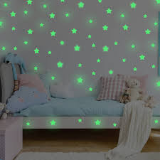 Buy Mafox Glow In The Dark Stars For Ceiling Or Wall Stickers Realistic 3d Wall Stickers Room Decor Galaxy Glow Stars Set Solar System Decals For Kids Bedroom Decoration