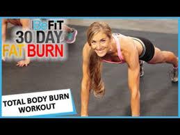 30 day fat burn total body burn