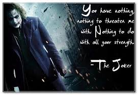 joker quotes in urdu the joker quotes they need you right now