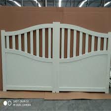 China Steel Fence Gate Aluminum Slat Fence Door Metal Gate Aluminum Door China Driveway Door Walkway Gate