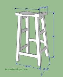 bar stool plans with regard to inspire