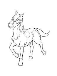 Spirit Riding Coloring Pages Printable Kleurplaten Paarden En