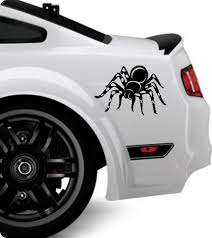 Car Truck Graphics Decals Auto Parts And Vehicles Spider Vinyl Decal Sticker Window Wall Car Bumper Laptop Black Widow Tarantula Megeriancarpet Am
