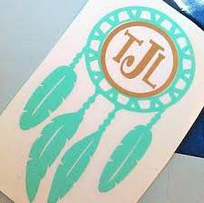 Boho Tribal Feather Decal Lettermix Studio