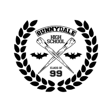 Buffy The Vampire Slayer Sunnydale High Vinyl Sticker