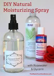 diy rosewater glycerin moisturizing spray