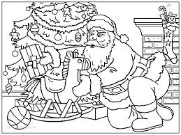 Kleurplaat Kerst Kerstman Kerstman Kleurplaat