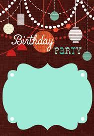 Retro Birthday Invitation Customizable Hacer Invitaciones De