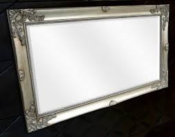 viewing photos of large pewter mirrors
