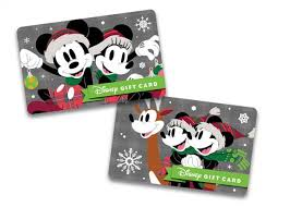 new disney holiday gift card designs