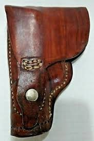 model 22 long pistol leather holster