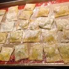 homemade ravioli with ricotta cheese
