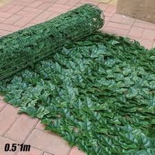 Artificial Faux Leaf Fence Hedge Screen Panels Garden Home Outdoor Privacy Grass Walmart Canada