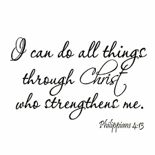 Winston Porter I Can Do All Things Through Christ Who Strengthens Me Bible Wall Decal Reviews Wayfair