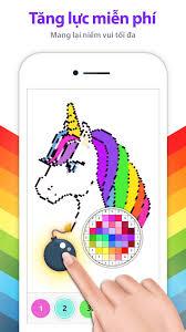 Kỳ Lân Tô Màu Theo Chữ Số - Sách Tô Màu cho Android - Tải về APK