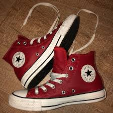converse shoes chuck taylor red