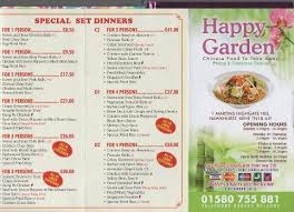 happy garden chinese takeaway hawkhurst