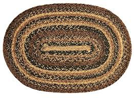 ihf home decor braided oval rug jute