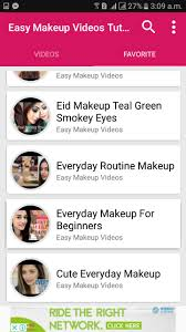 easy makeup videos tutorial for android