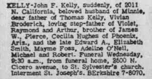 1949.06.01 John F. Kelly Obituary - Newspapers.com