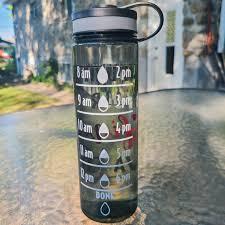 Water Bottle Tracker Svg Water Bottle Decal Water Bottle Etsy
