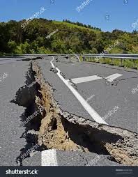 Massive Road Cracks Appear During Huge ...