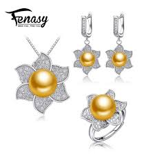 fenasy natural freshwater pearl jewelry