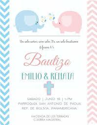 Bautizo Invitacion Doble Tarjetas De Invitacion Bautizo