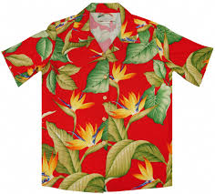 tropical hawaiian aloha c shirt
