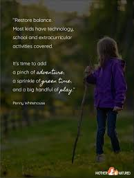 inspirational quotes about children and nature mother natured