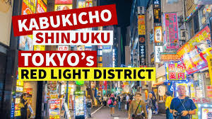 kabukicho shinjuku tokyo s red light