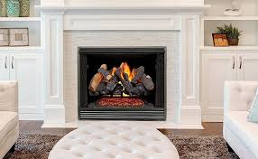 vented natural gas fireplace log