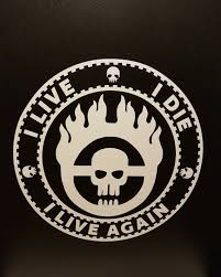 Mad Max Fury Road I Live I Die I Live Again Vinyl Decal Etsy