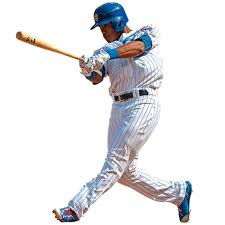 Chicago Cubs Addison Russell Fathead Life Size Removable Wall Decal