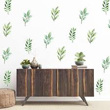Theo Leaf Wall Decal Set Project Nursery Floral Wall Decals Wall Decals