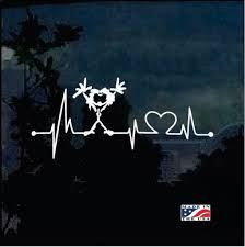 Love Pearl Jam Heartbeat Band Decal Sticker Midwest Sticker Shop