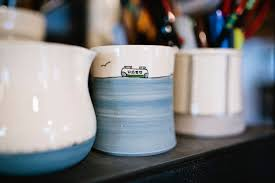downing pottery turns out homemade mugs